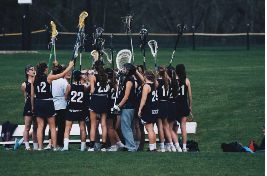 JV Girls Lacrosse vs Masco