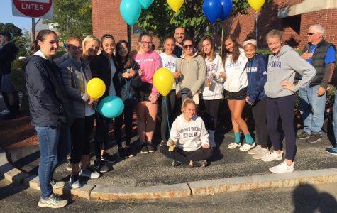 JV1 & 2 Girls Soccer Walk For Hospice