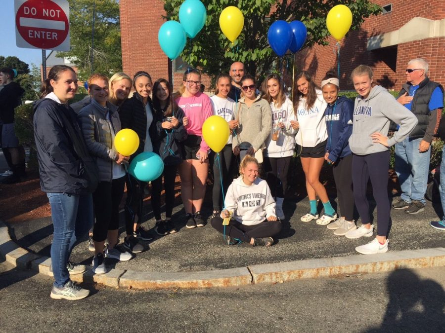 JV1 & 2 Girls Soccer Walk For Hospice