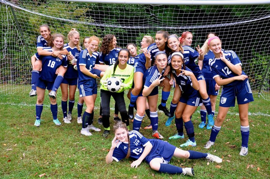 JV1 Girls Soccer