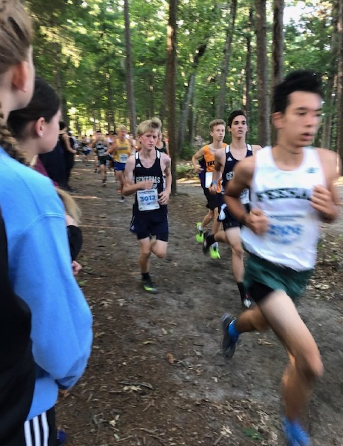 Freshman+boys+Luke+McMahon+and+Micah+Katz+are+spotted+running+in+navy+blue+at+Oceanstates+in+Rhode+Island.