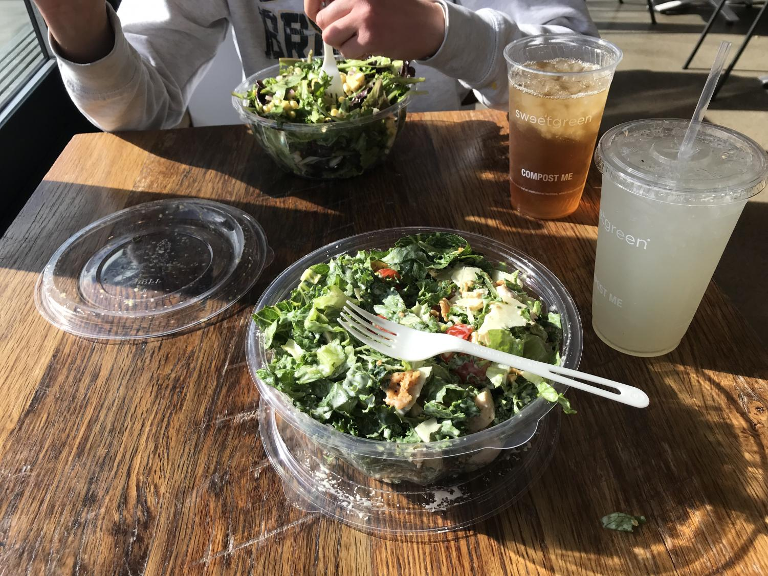 Kale Caesar Salad from Sweetgreen.