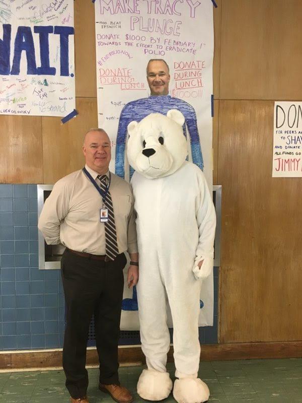 Swimming with the polar bears:  9th annual Polar Plunge to end Polio this Saturday, February 9th