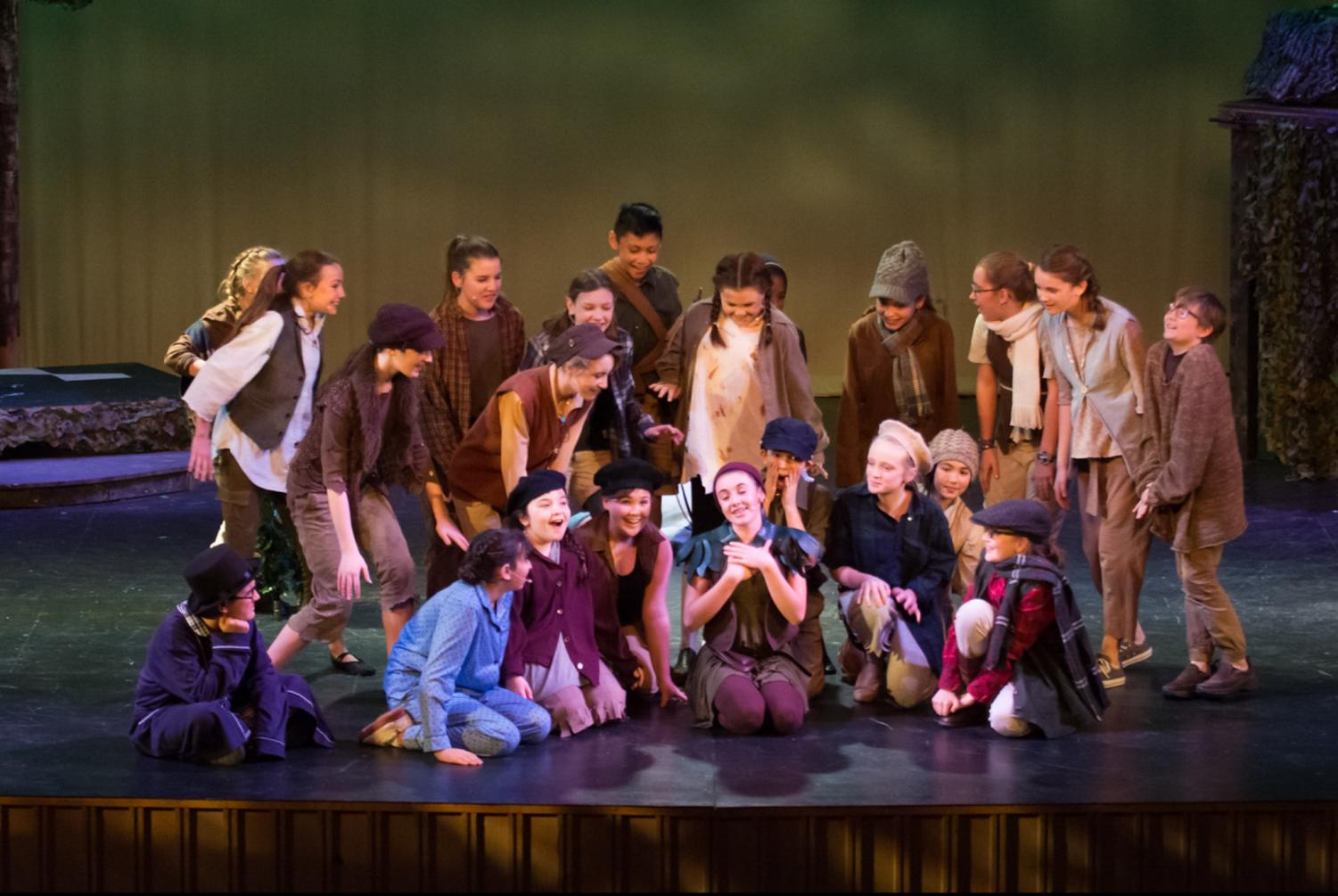 Courtesy of Drum Drum Photography, who took this photo during the production of Peter Pan.