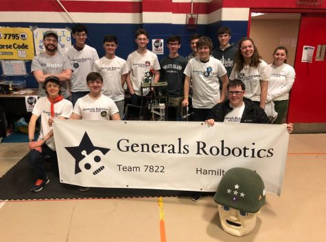 Onto the next competition: Generals Robotics wins rookie award
