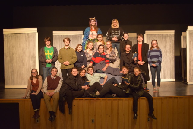 HWRHS+Theatre+Workshop%27s+cast+of+Wake+Up+Call+by+Stephen+Gregg