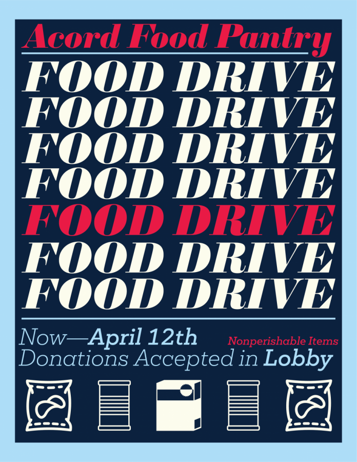 Food Drive Poster 2