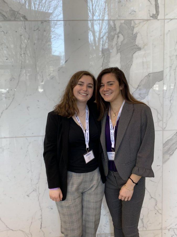 Lauren Verge (19) and Valerie Wise (19)