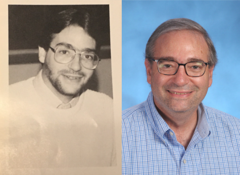 Mr. Bucci's yearbook pictures from when he started teaching to now.
