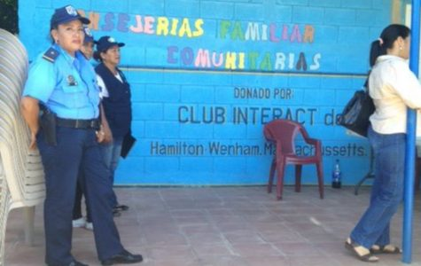 A police station in Nicarauga