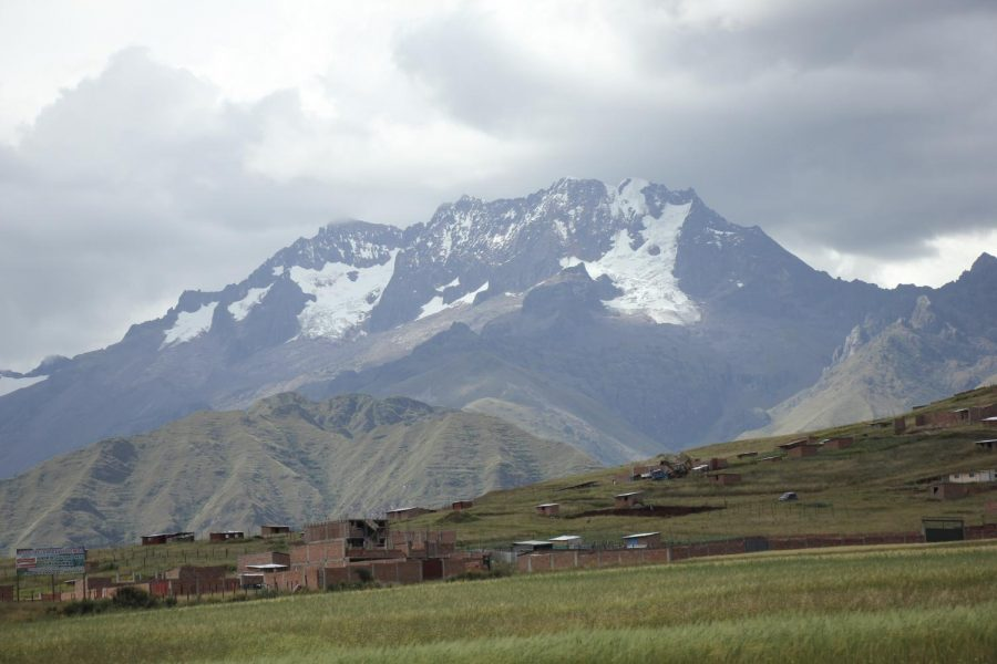 You can always see the mountains in Cusco.