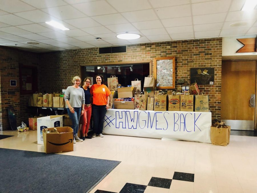 Competing to help the Community: The Acord Food Drive