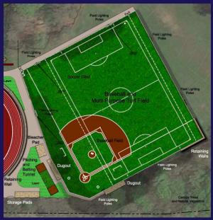 Proposed Turf Baseball Field