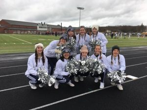 Cheerleaders at the Thanksgivinng Game