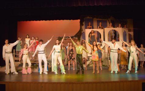 The Mamma Mia! Waterloo finale.