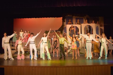 The Mamma Mia! Waterloo finale.