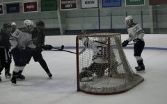 Generals Goalie Finn Brophy makes a save versus Pentucket, December 30th 2019.