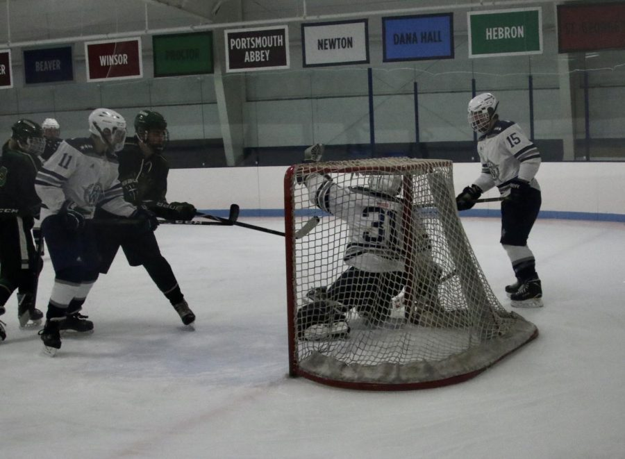 Generals+Goalie+Finn+Brophy+makes+a+save+versus+Pentucket%2C+December+30th+2019.+