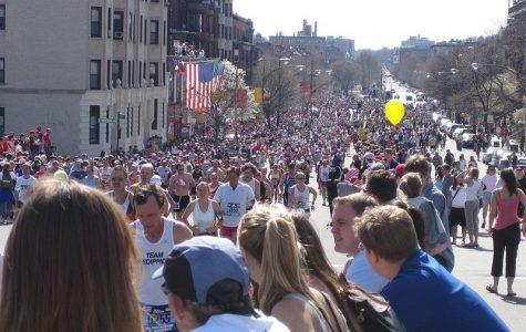 Boston Marathon Mile 25 Beacon Street
