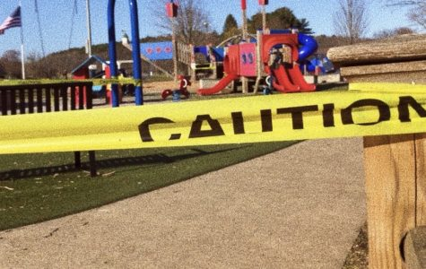 Patton park in Hamilton closed off as Coronavirus raises worries