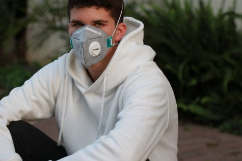 Teens now wear masks and try to keep busy during social distancing