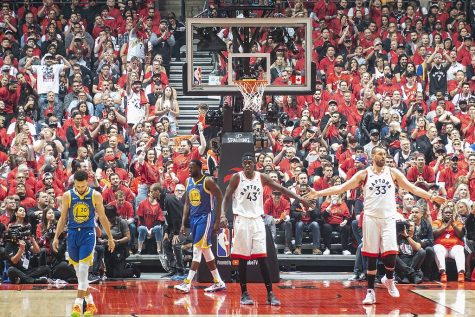 Game 2 of 2019 NBA Finals.