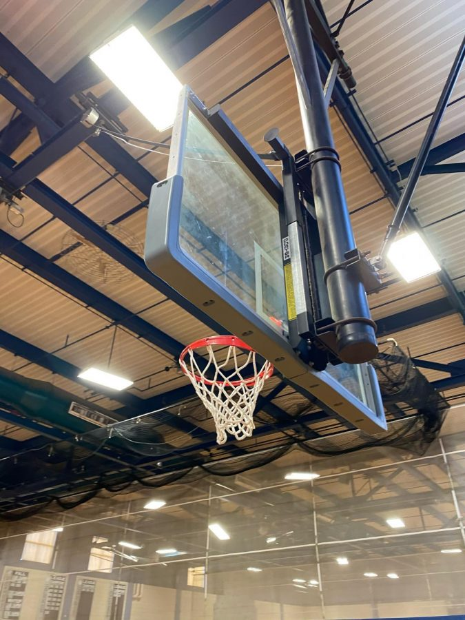 Basketball hoops in Hamilton Wenham and across the country go unused due to Covid concerns while the NBA continues on carefully.