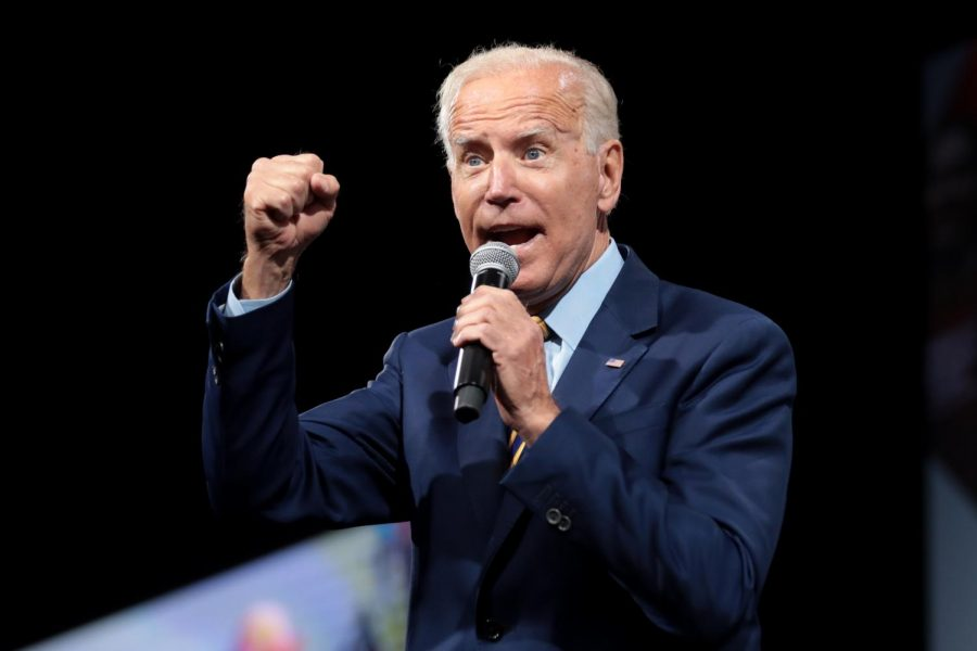 President Joe Biden Speaks at an event about how he plans to bring back the United States from Trump's Presidency.