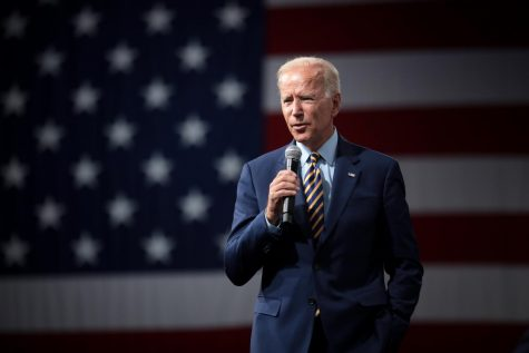 President Joe Biden Speaks at an event about how he plans to bring back the United States from Trump