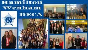 Collage of DECA students compiled by Mathilde Gordon