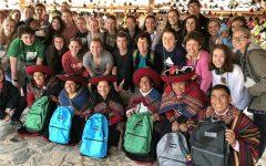 HWRHS students enjoying a trip sponsored by the Spanish program at Hamilton Wenham